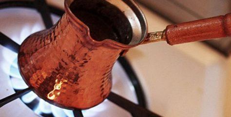 من طرق تحضير القهوة التركية